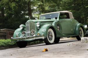 Packard Twelve Model 1207 Coupe Roadster 1935 года